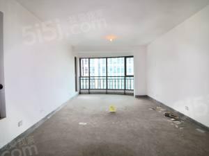 世贸丽晶城 新上毛坯 从未住过人 三房朝南 4个阳台 对花园
